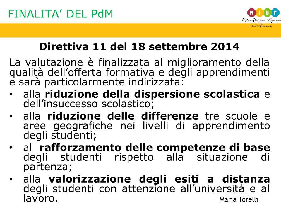 Direttiva 11 del 18 settembre 2014