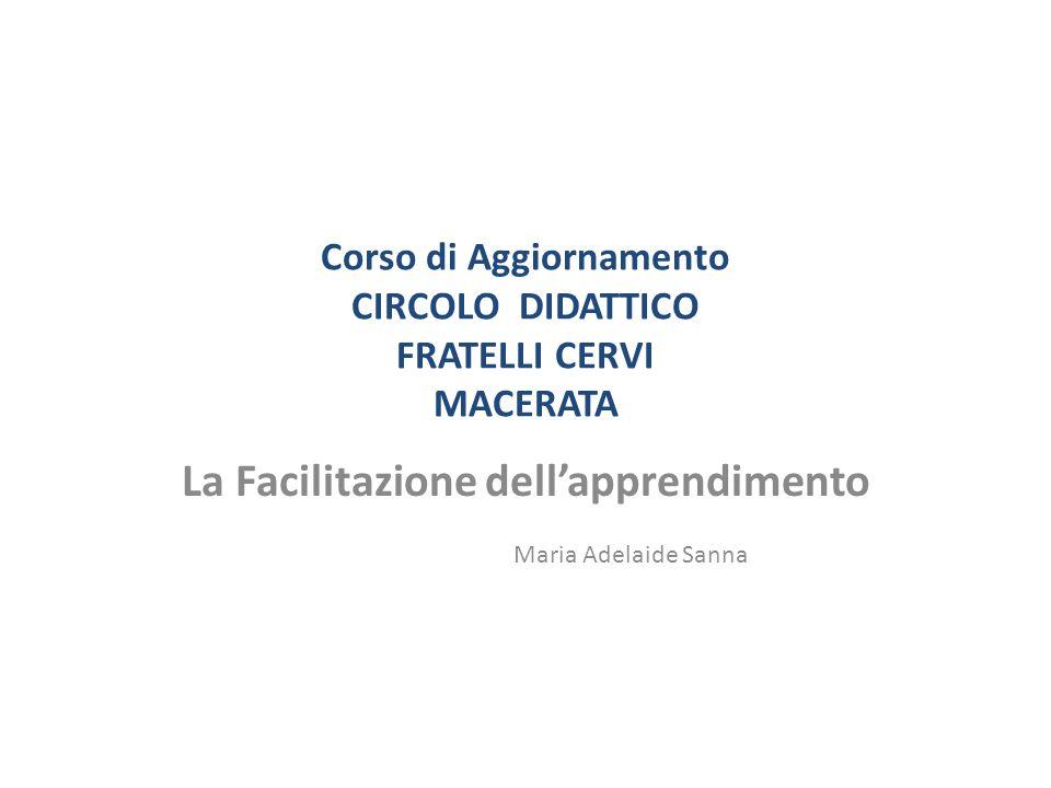 Corso di Aggiornamento CIRCOLO DIDATTICO FRATELLI CERVI MACERATA
