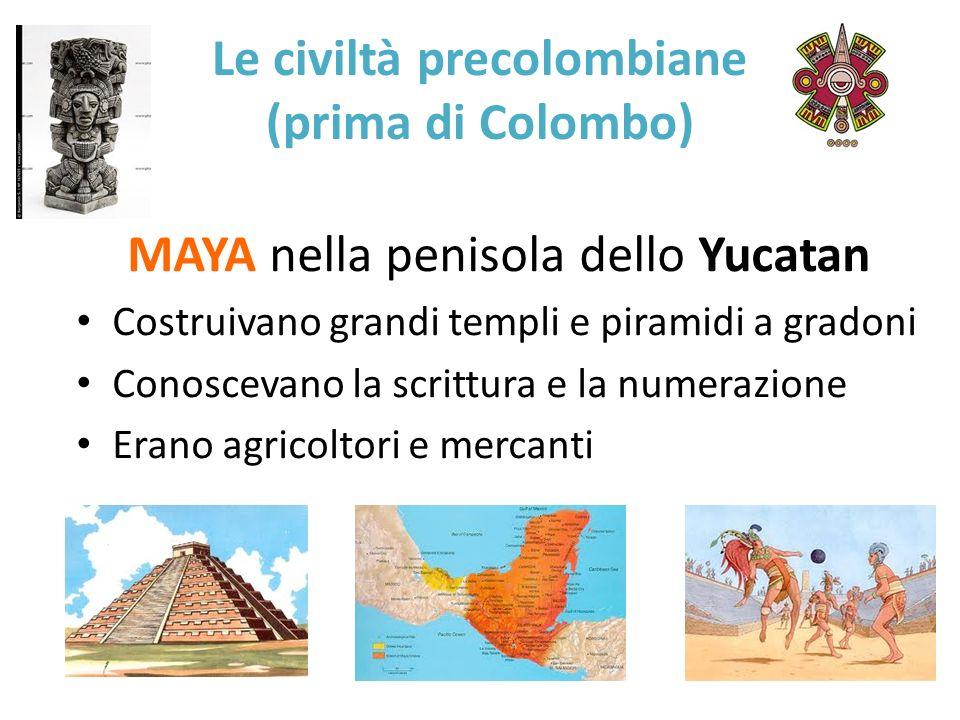 Le civiltà precolombiane (prima di Colombo)