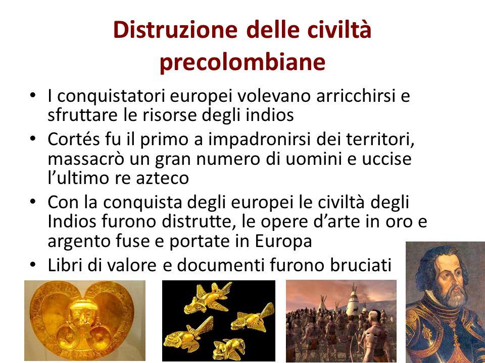 Distruzione delle civiltà precolombiane