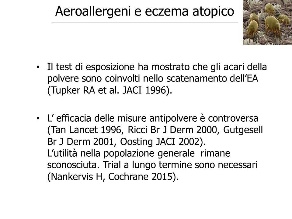 Aeroallergeni e eczema atopico
