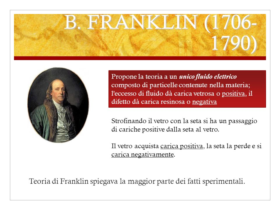 B. FRANKLIN (1706-1790)