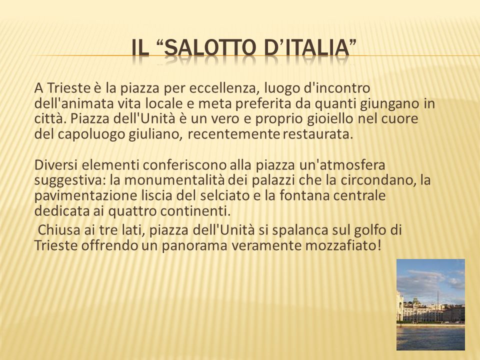 Il salotto d'Italia