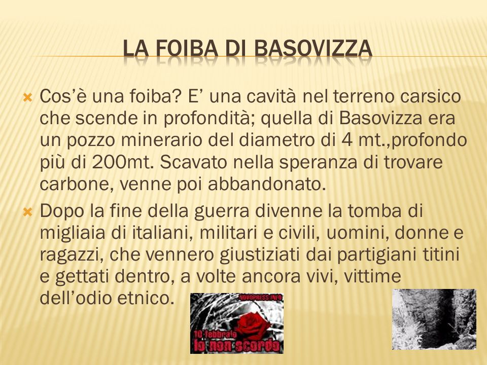La foiba di Basovizza