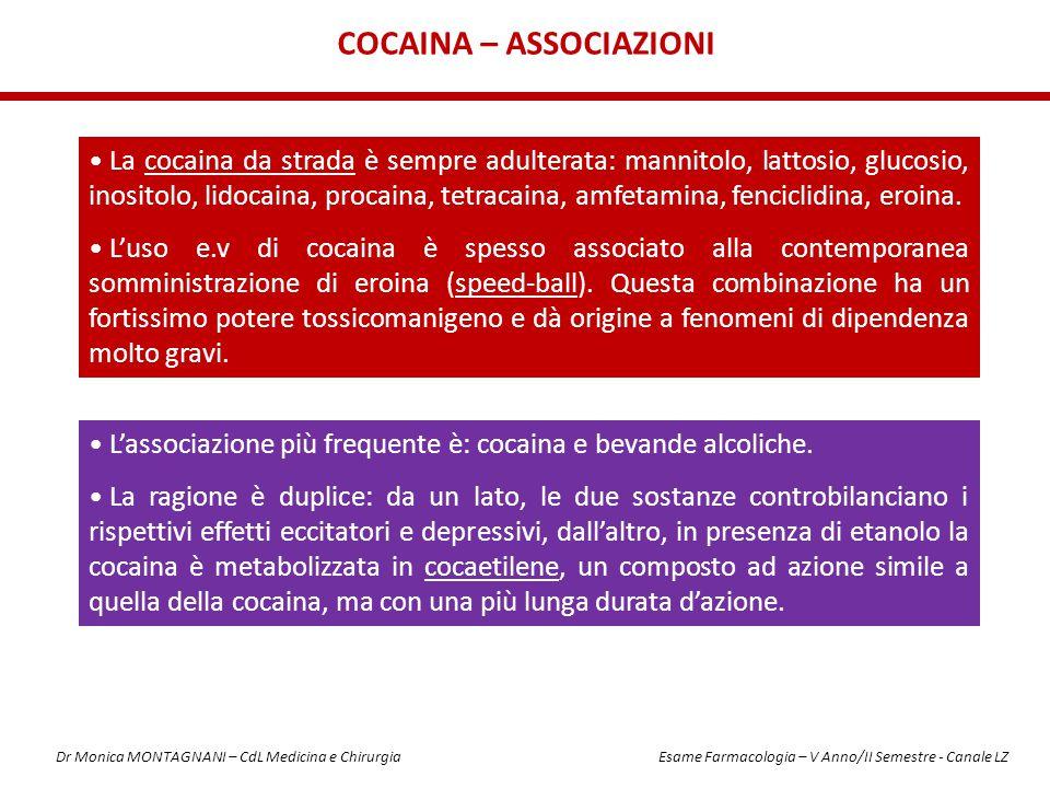 Cocaina – Associazioni