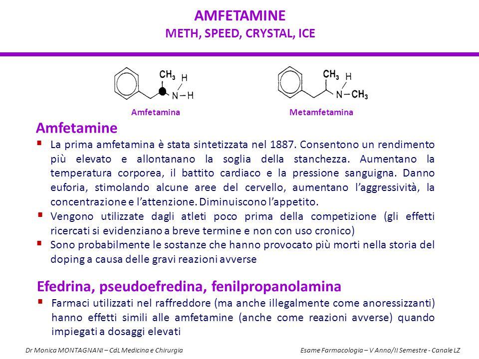 Efedrina, pseudoefredina, fenilpropanolamina
