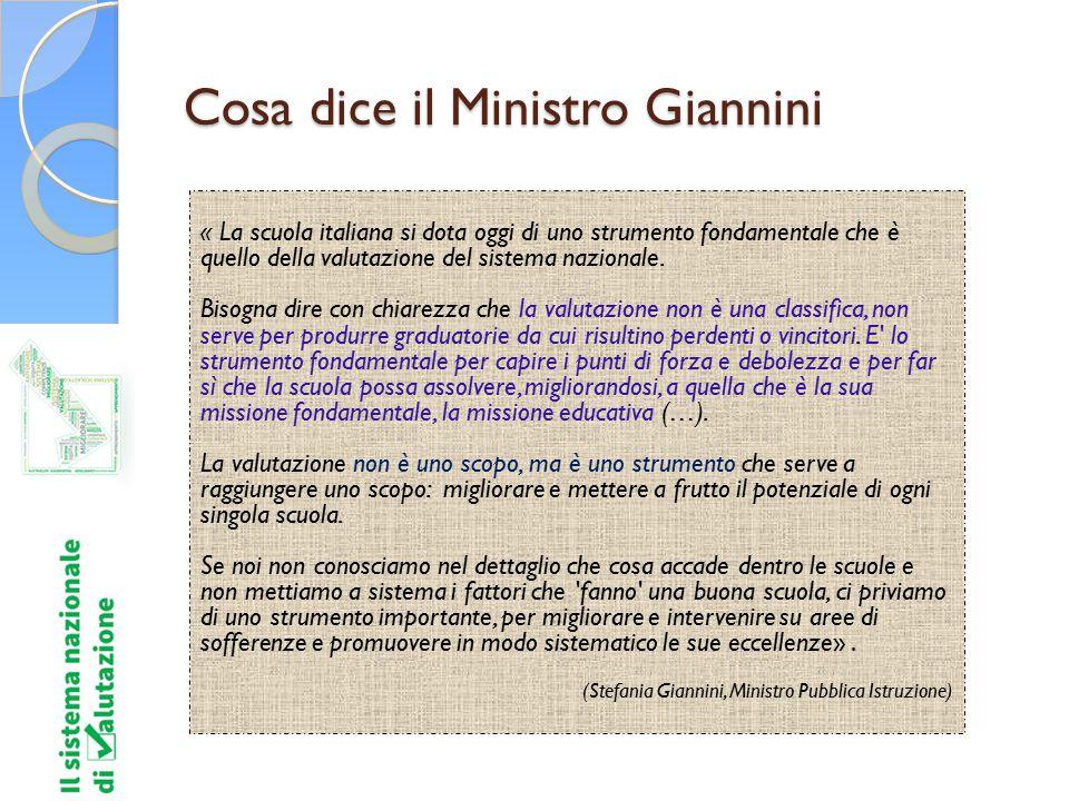 Cosa dice il Ministro Giannini