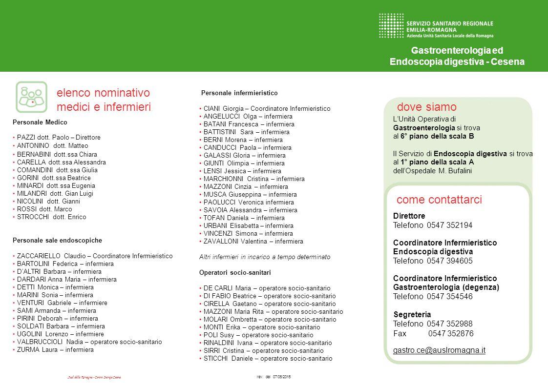 Endoscopia digestiva - Cesena