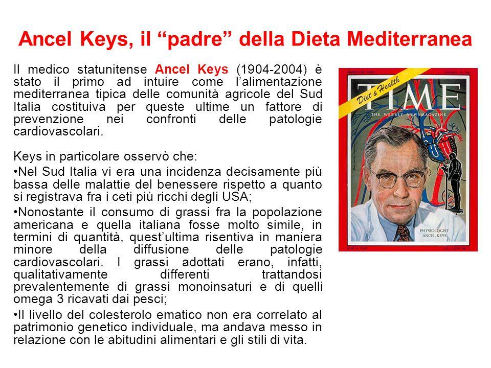 Ancel Keys, il padre della Dieta Mediterranea