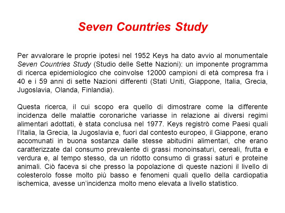 Seven Countries Study