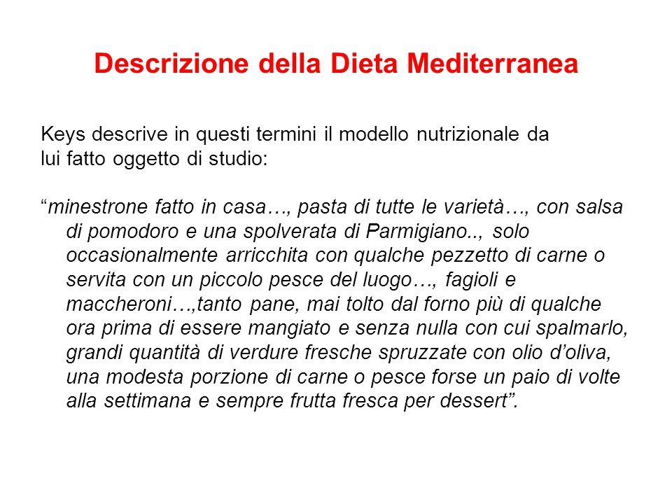 Descrizione della Dieta Mediterranea