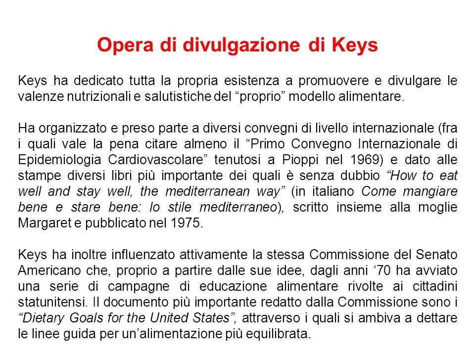 Opera di divulgazione di Keys