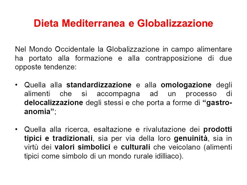 Dieta Mediterranea e Globalizzazione