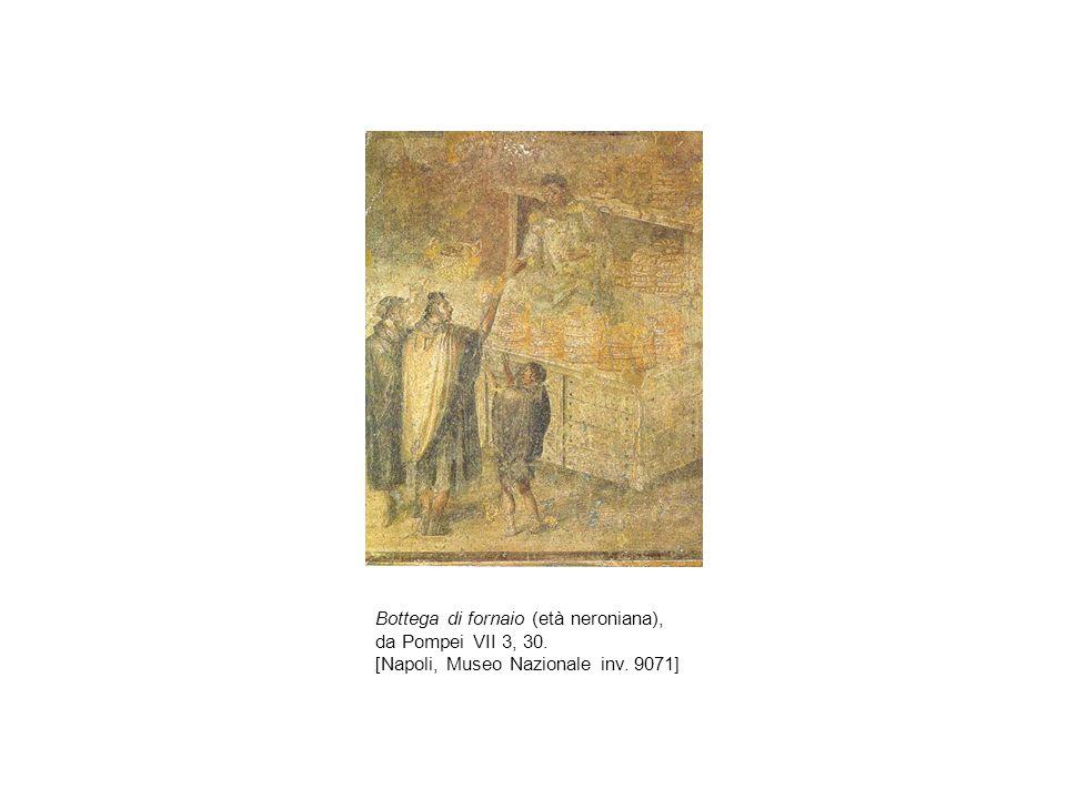 Bottega di fornaio (età neroniana), da Pompei VII 3, 30.