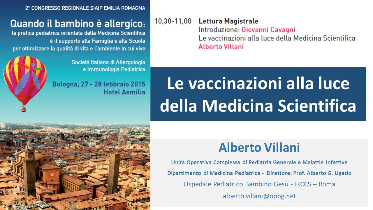 Le vaccinazioni alla luce della Medicina Scientifica