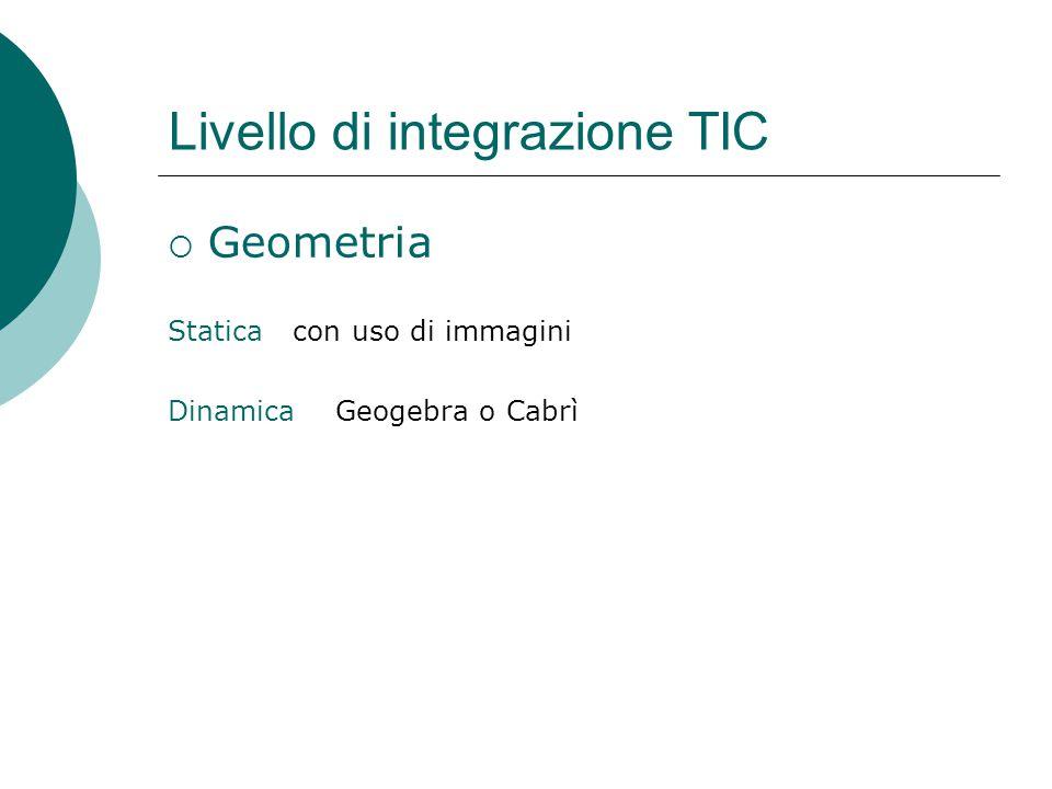 Livello di integrazione TIC