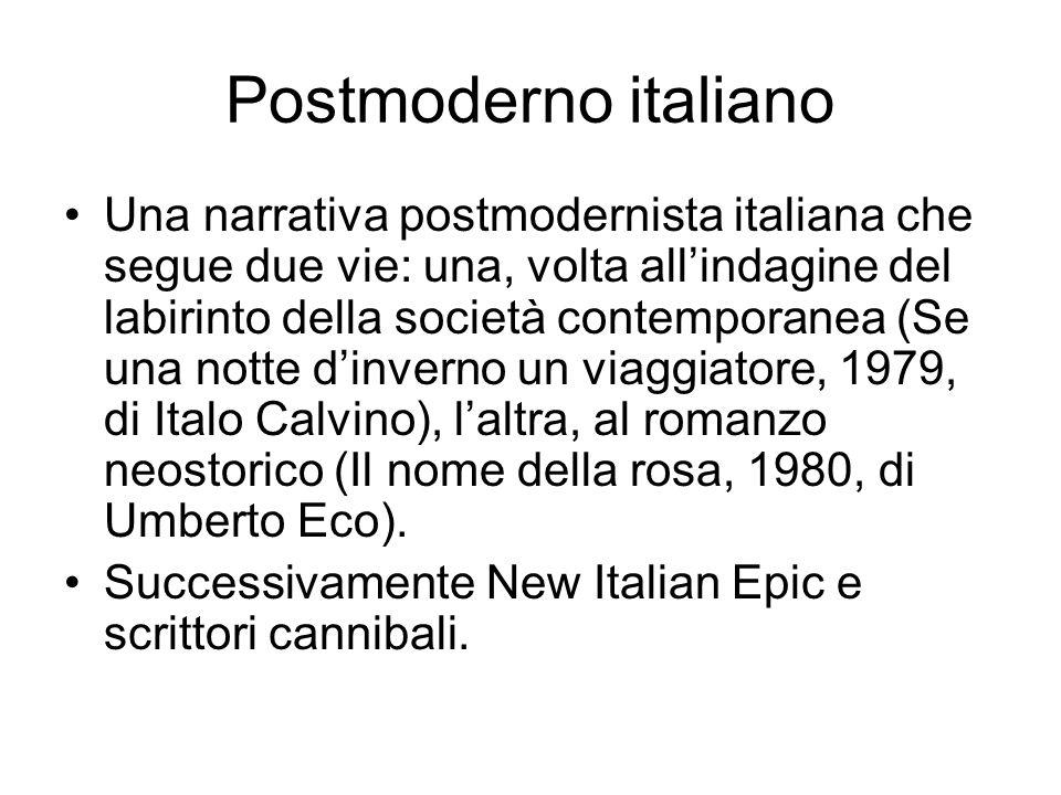 Postmoderno italiano