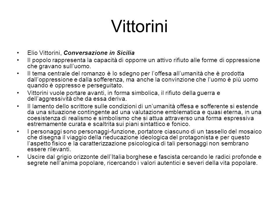 Vittorini Elio Vittorini, Conversazione in Sicilia