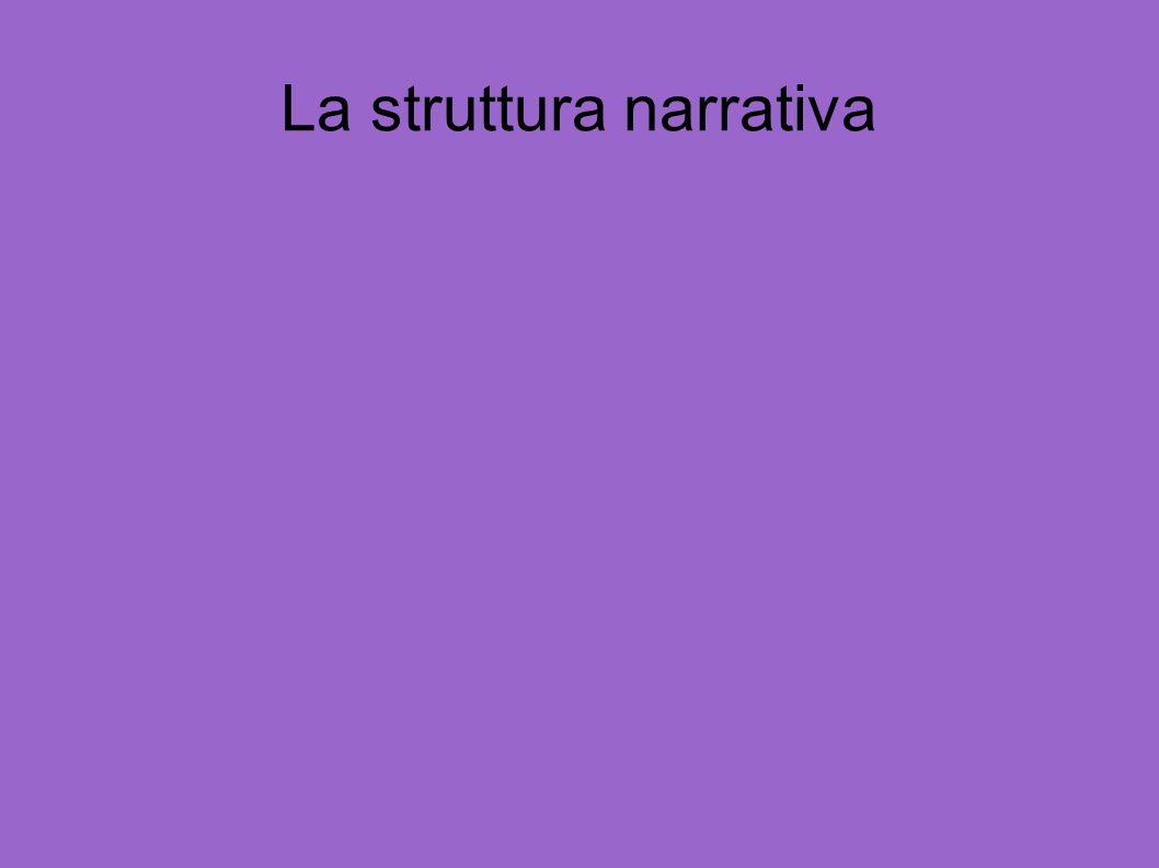 La struttura narrativa