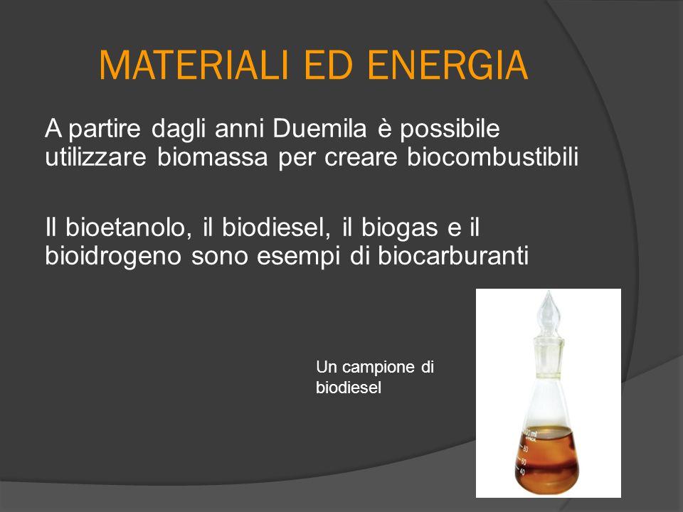 MATERIALI ED ENERGIA