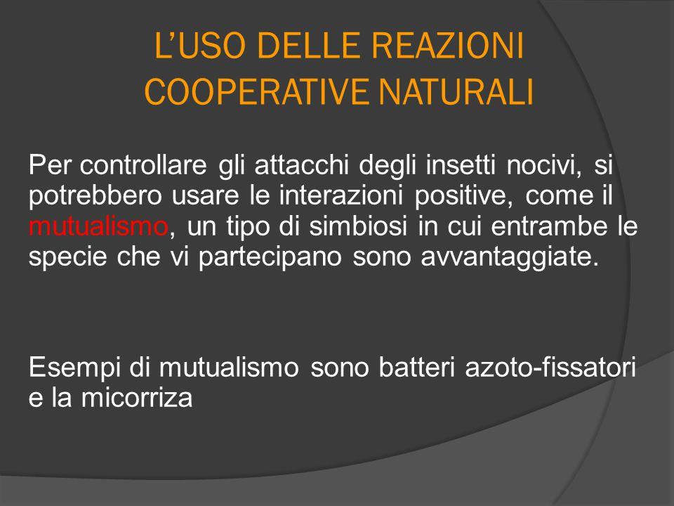 L'USO DELLE REAZIONI COOPERATIVE NATURALI