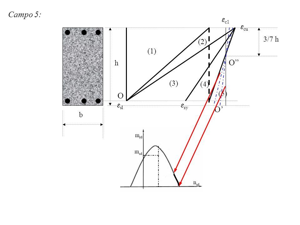 Campo 5: c1 cu 3/7 h (2) (1) h O (3) (4) O (5) sl sy O' b