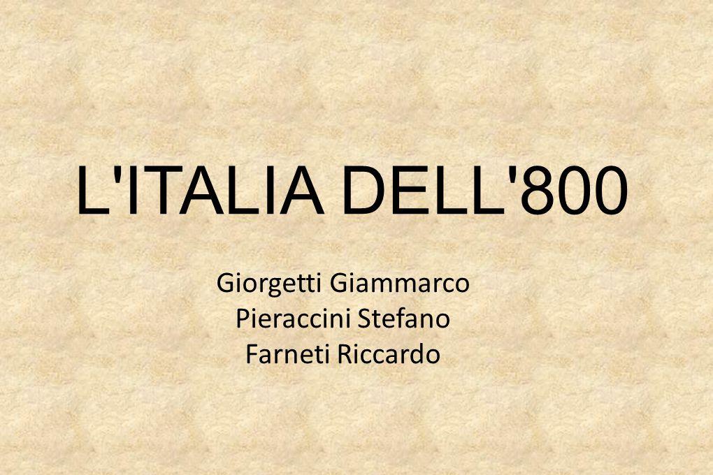 L ITALIA DELL 800 Giorgetti Giammarco Pieraccini Stefano