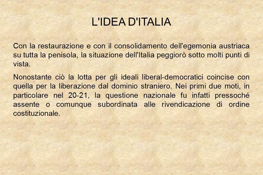 L IDEA D ITALIA