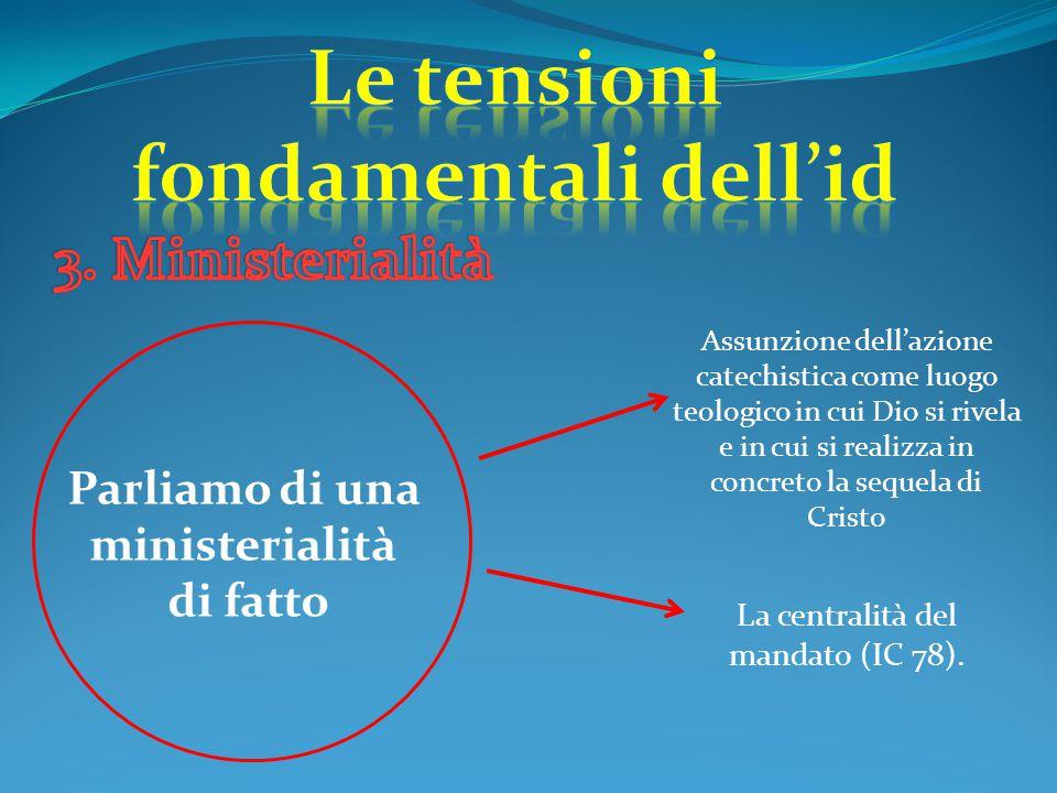 Le tensioni fondamentali dell'id Parliamo di una ministerialità