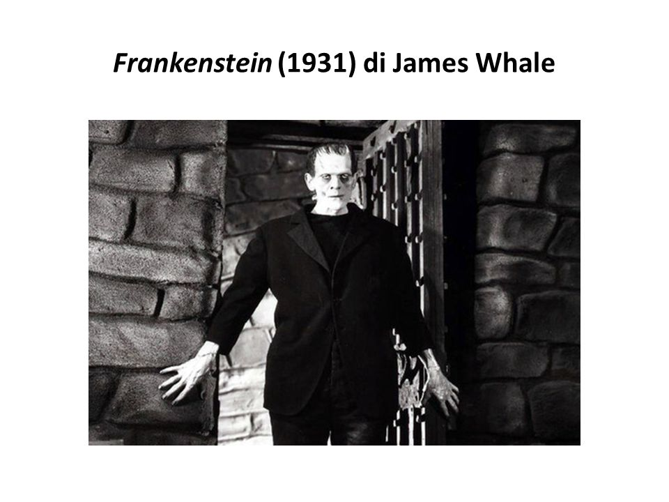 Frankenstein (1931) di James Whale