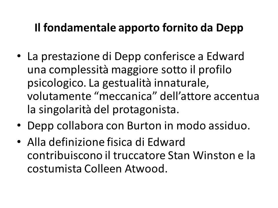 Il fondamentale apporto fornito da Depp