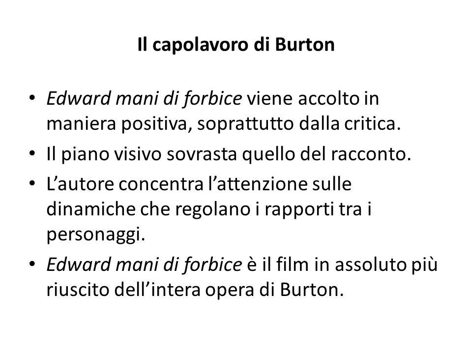 Il capolavoro di Burton