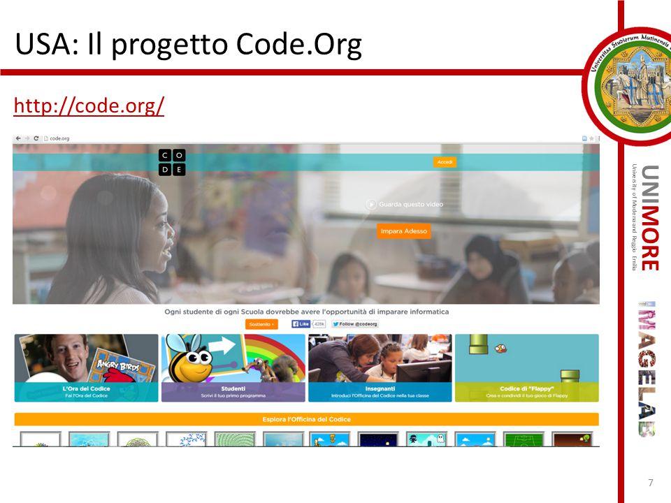 USA: Il progetto Code.Org