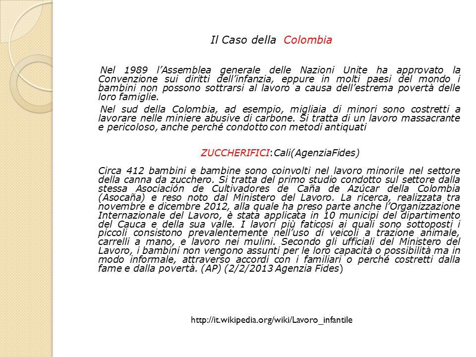 Il Caso della Colombia
