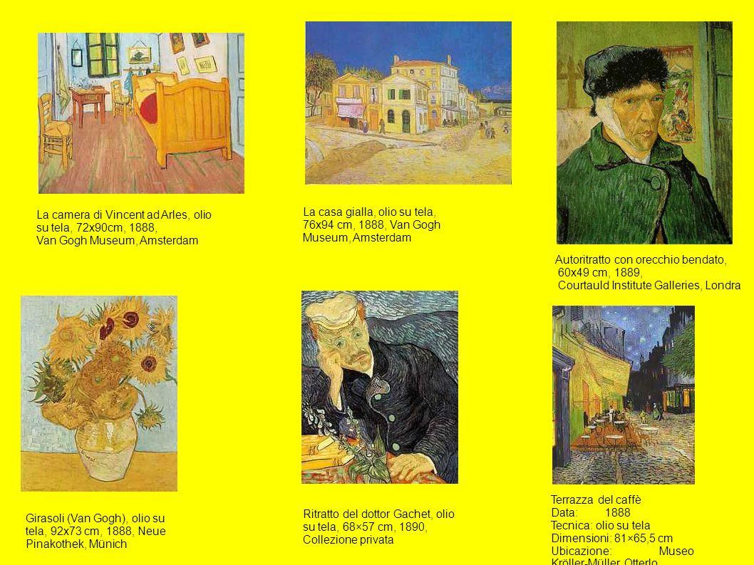 La camera di Vincent ad Arles, olio su tela, 72x90cm, 1888,