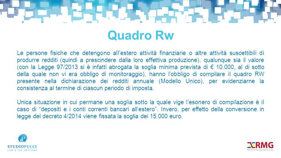 Quadro Rw