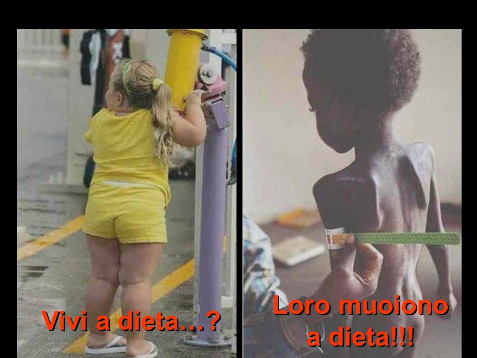 Vivi a dieta… Loro muoiono a dieta!!!