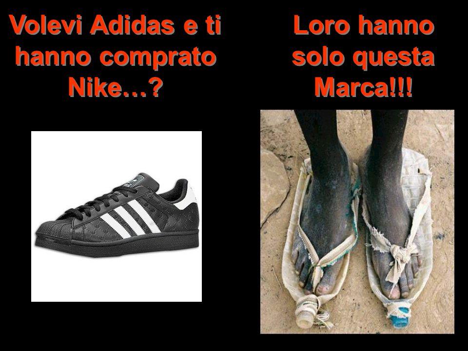 Volevi Adidas e ti hanno comprato Nike…