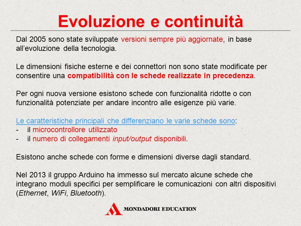 Evoluzione e continuità