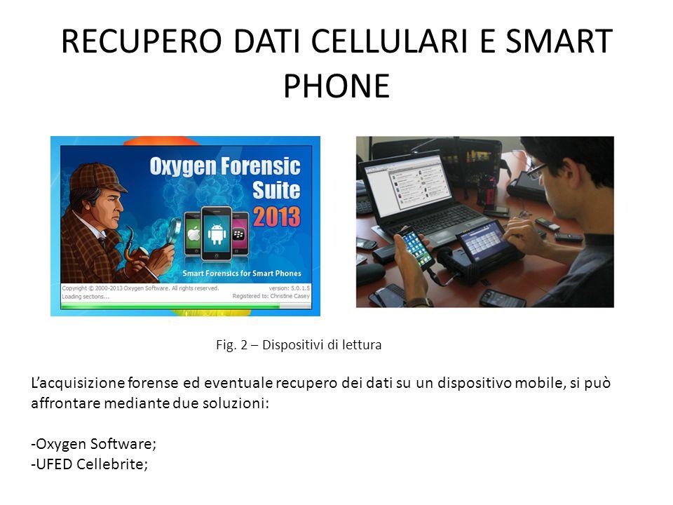RECUPERO DATI CELLULARI E SMART PHONE