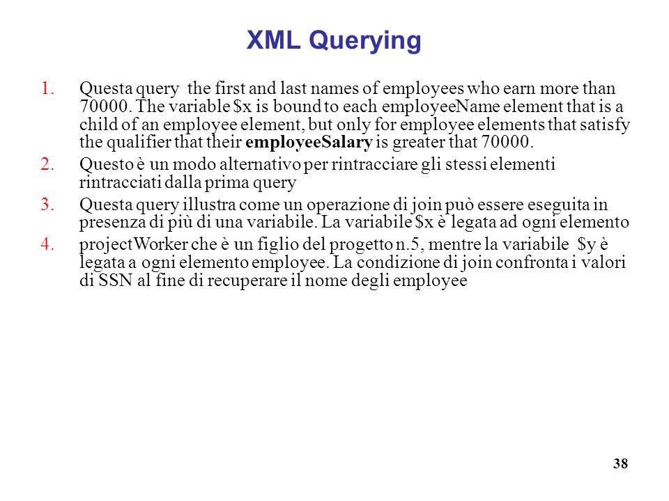 XML Querying