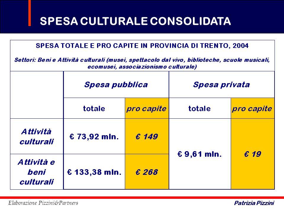 SPESA CULTURALE CONSOLIDATA