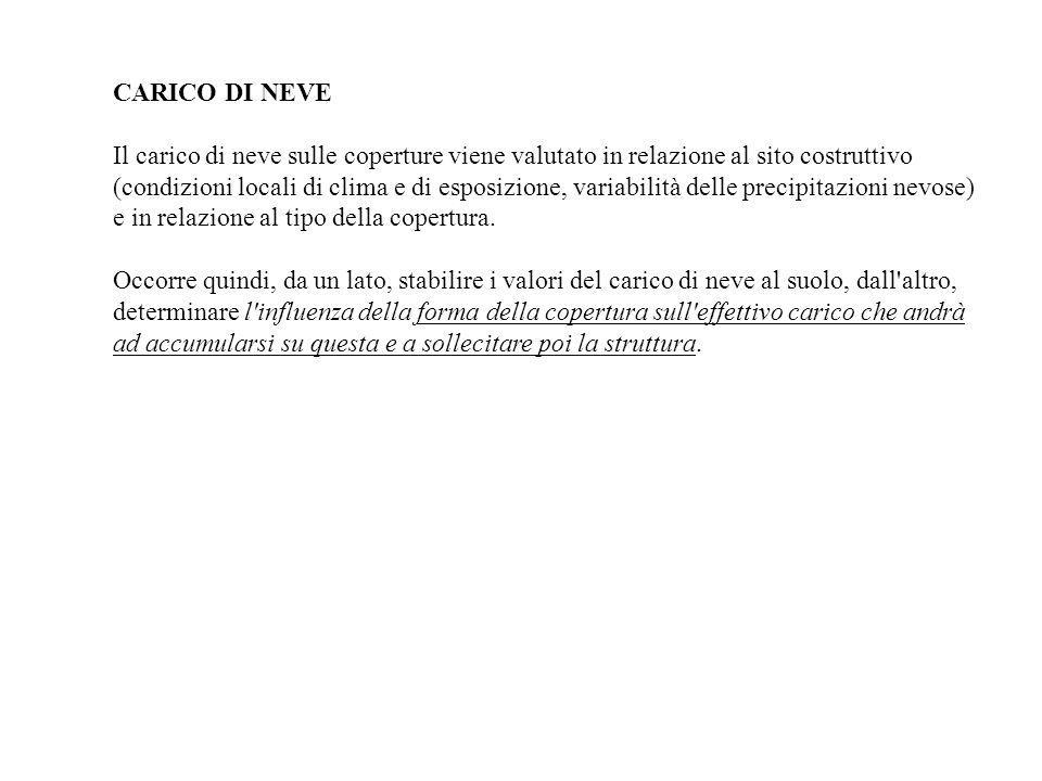 CARICO DI NEVE