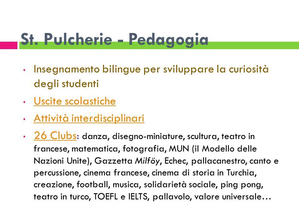 St. Pulcherie - Pedagogia