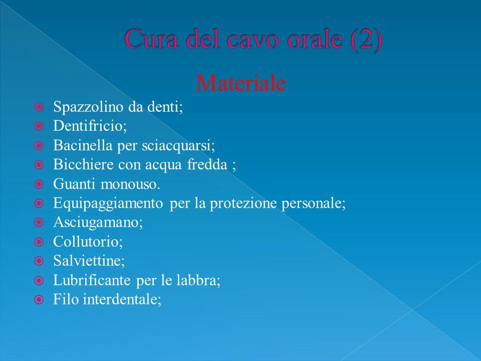 Cura del cavo orale (2) Materiale Spazzolino da denti; Dentifricio;