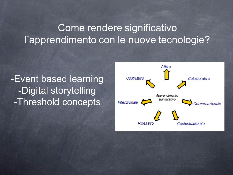 Come rendere significativo l'apprendimento con le nuove tecnologie