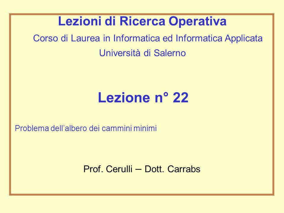 Prof. Cerulli – Dott. Carrabs