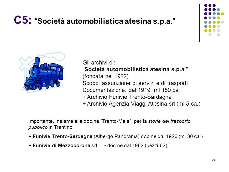 C5: Società automobilistica atesina s.p.a.