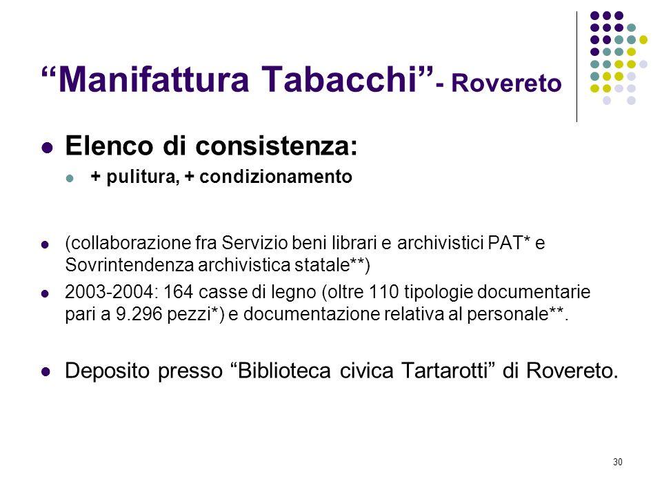 Manifattura Tabacchi - Rovereto