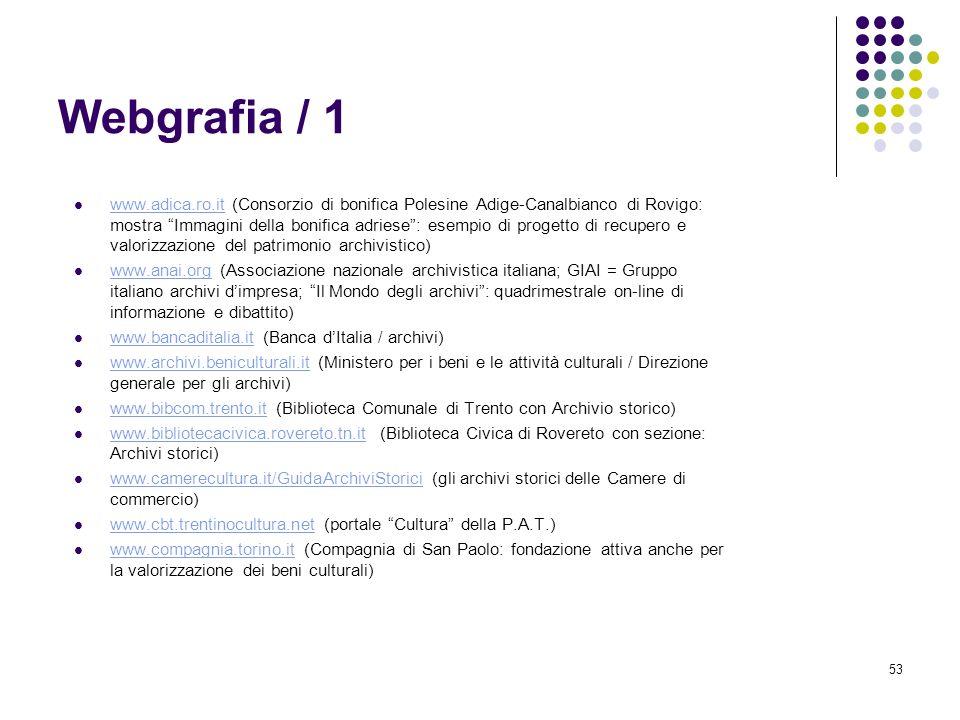 Webgrafia / 1